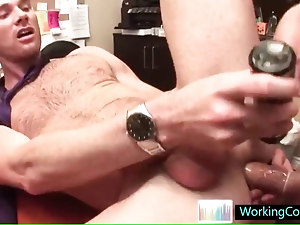 Cole gets his hot ass fucked deep by workingcock