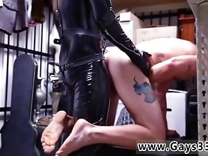 Free arab straight wanking videos gay Dungeon sir with a gimp