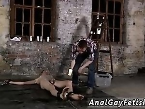 Muscle men bondage in movies gay His man sausage is encaged and