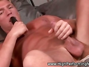 Gavin Waters having a solo masturbation