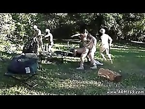 Gay sexy army muscle men fucking movie Taking the recruits on their