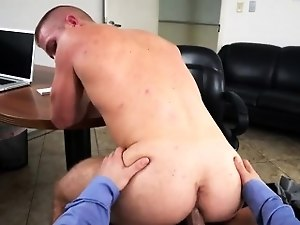 Straight curious stories gay Keeping The Boss Happy