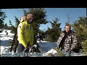 Naked fat guys outdoors gay Snow Bunnies Anal Sex