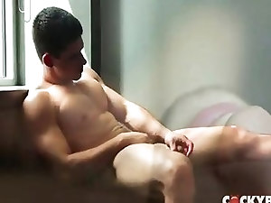 Gay;Gay Couple;Masturbation;Oral Sex;Anal Sex;Bondage;Brunette;Caucasian;Wanking;Blowjob;Cum Shot