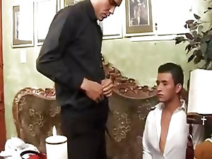 Gay;Gay Couple;Masturbation;Oral Sex;Anal Sex;Black-haired;Latin;Wanking;Blowjob;Bareback;Cum Shot